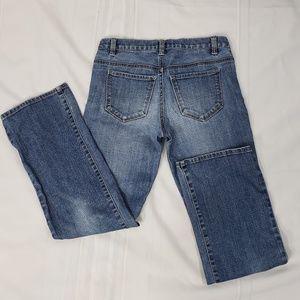 Talbots Petite Boot Cut Blue Jeans Size 0P